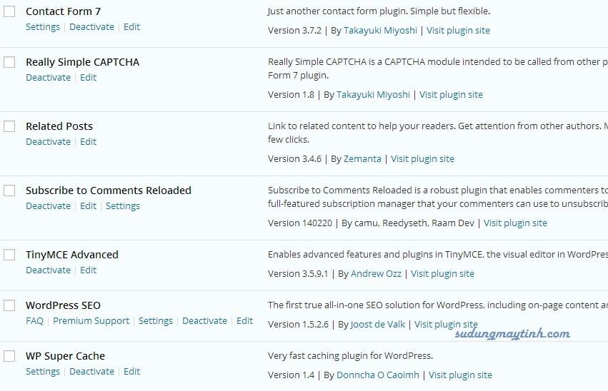 Top 6 plugins quan trọng nhất cần phải có cho WordPress