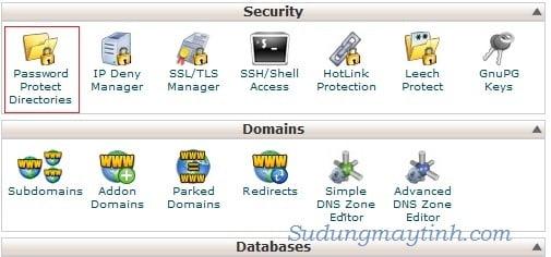 Bảo mật cho các file/folder quan trọng