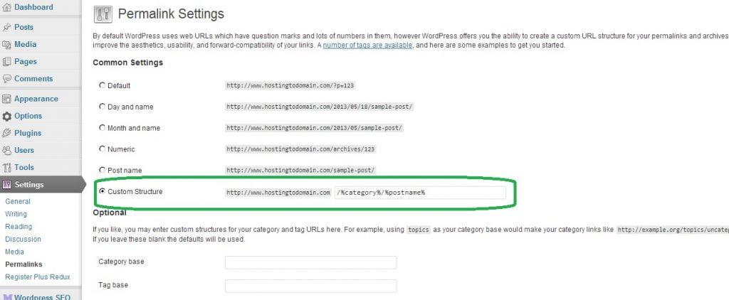Tối ưu URL trang post (bài viết) trong WordPress