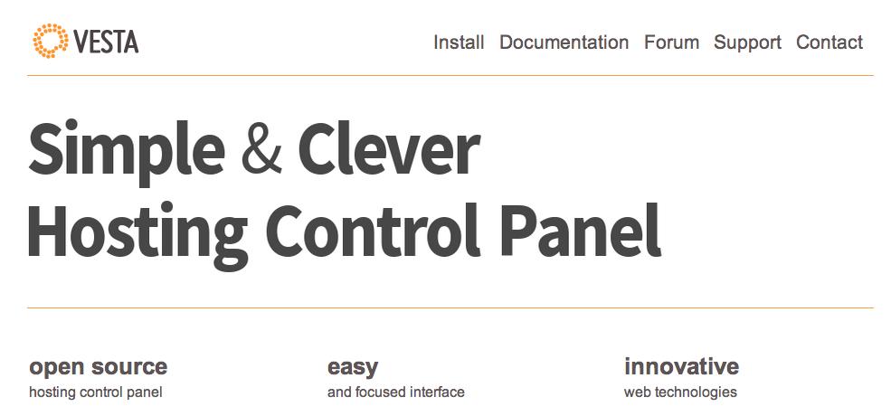 Hướng dẫn cài đặt, cấu hình và sử dụng Vesta Panel - control panel miễn phí tốt nhất