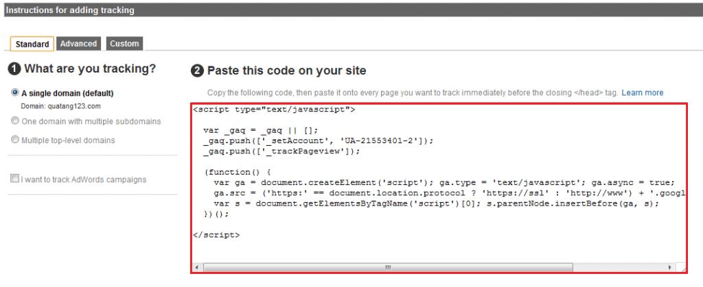 Hướng dẫn cách xóa website trong tài khoản Google Analytics