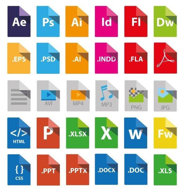 Danh sách tất cả các định dạng file (file extension) từ A đến Z (Phần 2: B, C)