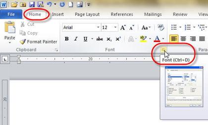 Hướng dẫn thay đổi font chữ mặc định trong Microsoft Word 2010
