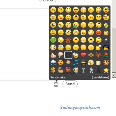Thủ thuât sử dụng các biểu tượng cảm xúc ẩn của Skype