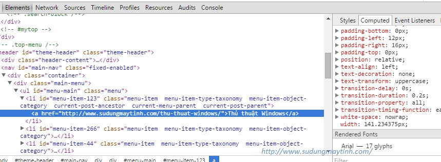 Hướng dẫn fix lỗi hiện thị CSS của Chrome