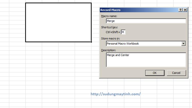 Tự tạo các phím tắt của Excel cho riêng bạn bằng Macros