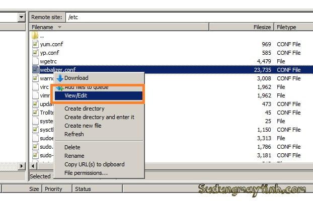 Hướng dẫn soạn thảo file Linux ngay từ Windows thông qua FTP