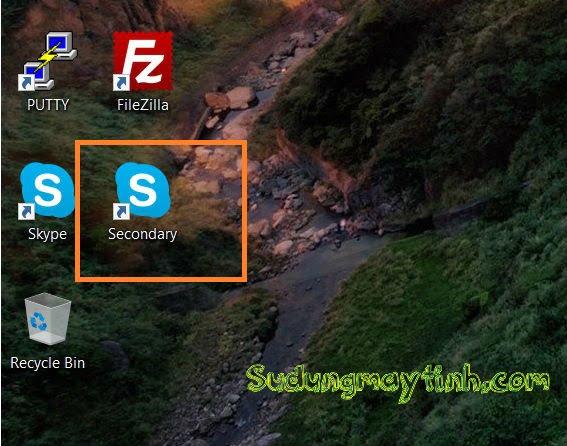Hướng dẫn cách đăng nhập nhiều tài khoản Skype trên một máy tính