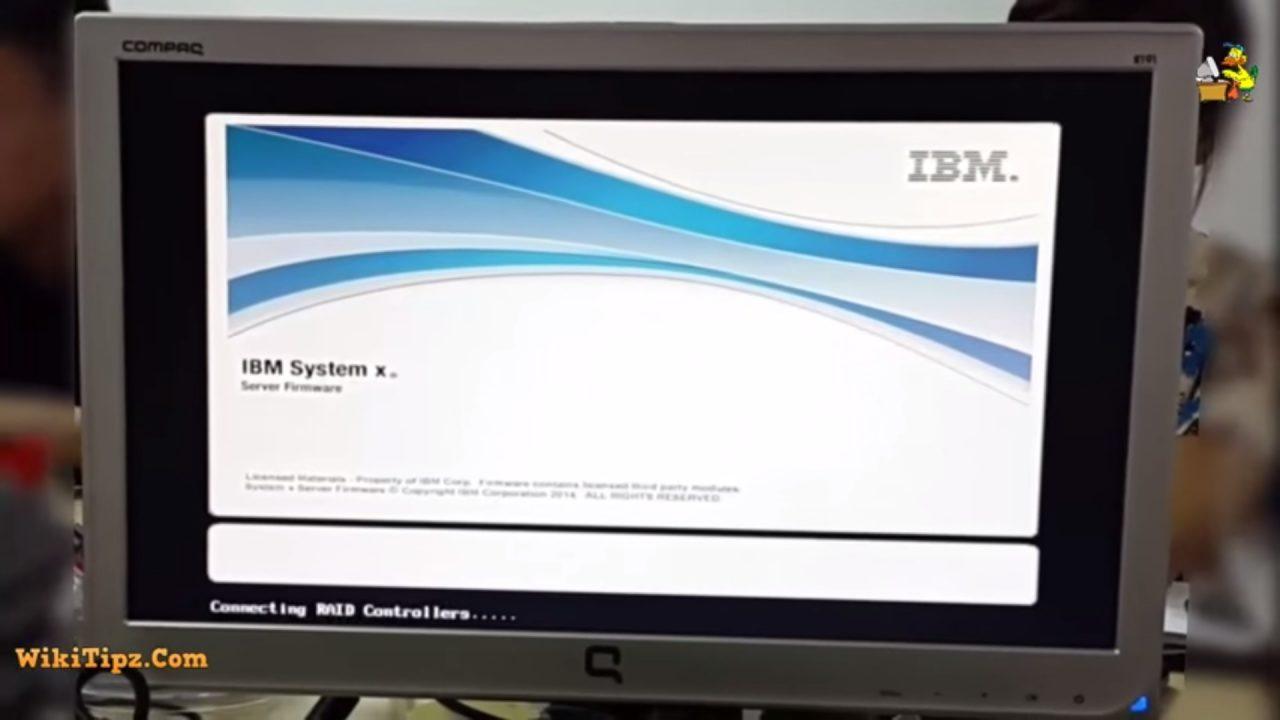 Hướng dẫn cấu hình RAID và cài đặt Windows Server cho máy chủ IBM System X3650