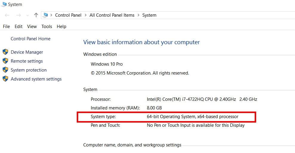 Cách nhận biết mình đang sử dụng Windows 32 bit hay Windows 64 bit