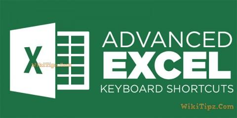 Tổng hợp 20 phím tắt hay nhất và quan trọng nhất trong EXCEL