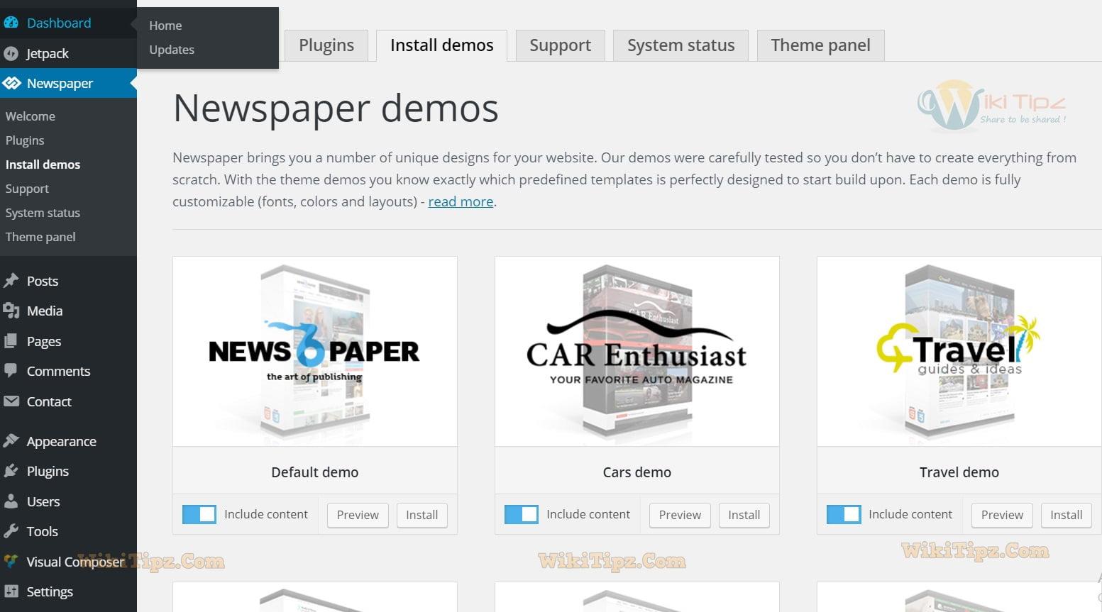 Hướng dẫn sử dụng và cấu hình Theme Newspaper 6.6.3