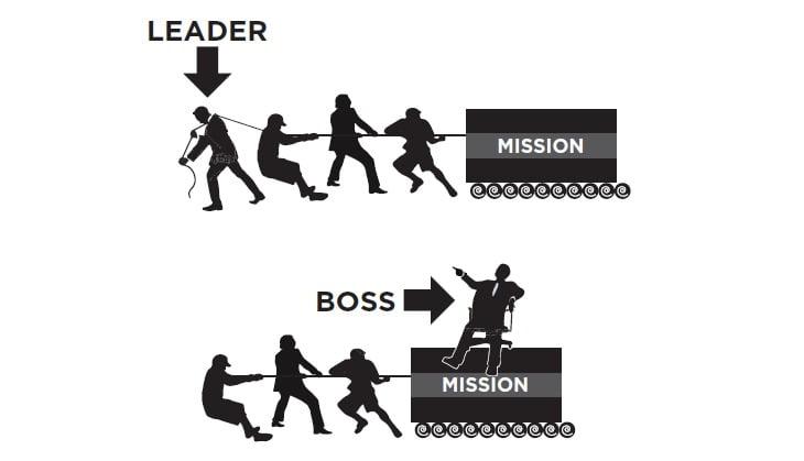 Đừng ngộ nhận giữa một người bán hàng giỏi với một người lãnh đạo tài năng