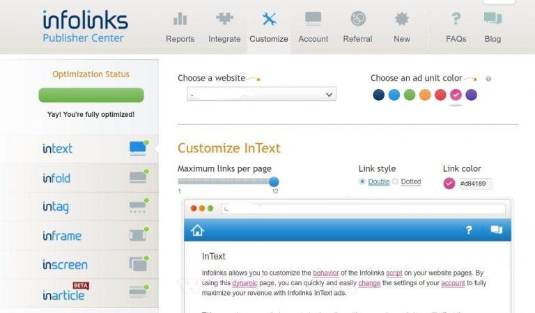 Kiếm tiền 1000 USD/tháng với Infolinks - Mạng quảng cáo In-Text Số 1 thế giới