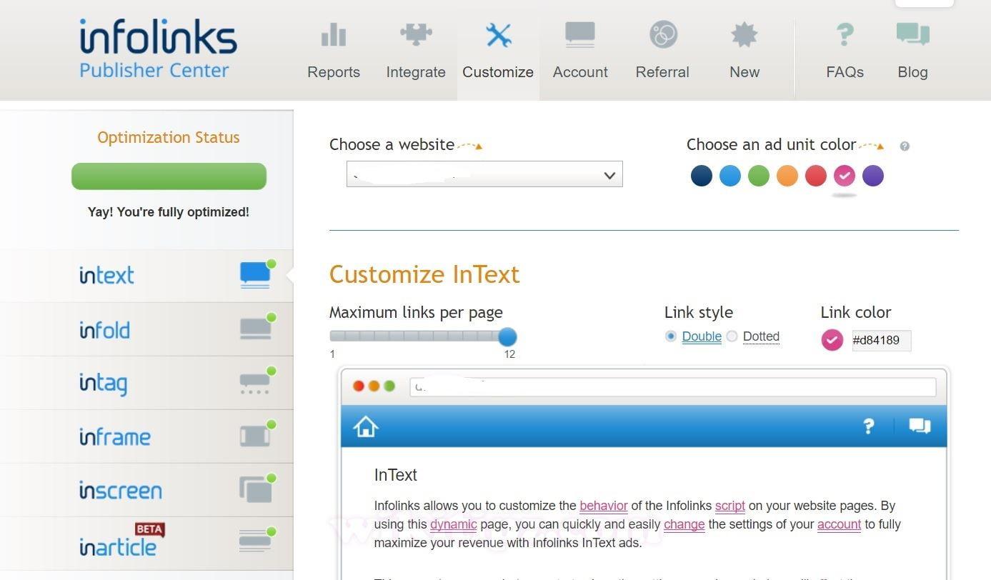 Kiếm tiền 1000 USD/tháng với Infolinks – Mạng quảng cáo In-Text Số 1 thế giới