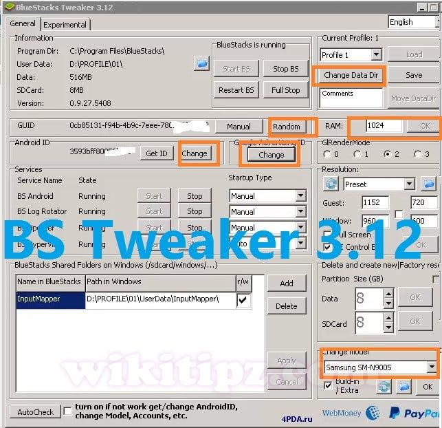 Hướng dẫn Sử dụng BlueStacks Tweaker 3.12 Quản lý nhiều Máy ảo (Android Profile)