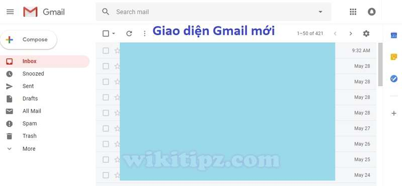 Giao diện Gmail mới