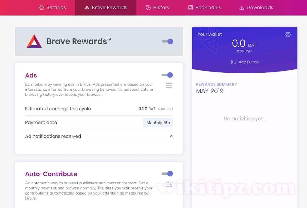Kiếm tiền tự động khi Lướt web, đọc báo là có thật !! Với trình duyệt blockchain Brave – thế giới đã thay đổi.